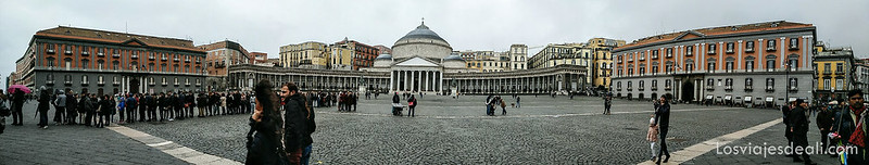 paseos por Nápoles panorámica