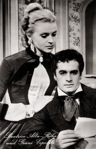 Gianni Esposito and Beatrice Altariba in Les Misérables (1958)