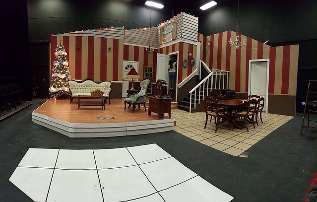 The set of Last Night of Ballyhoo