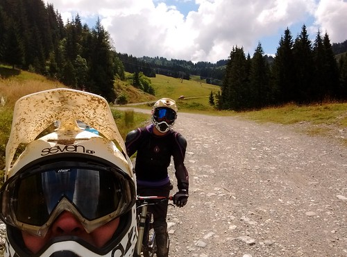 Downhill biking in Morzine. From The Best Summer Road Trip Ever: The Recipe