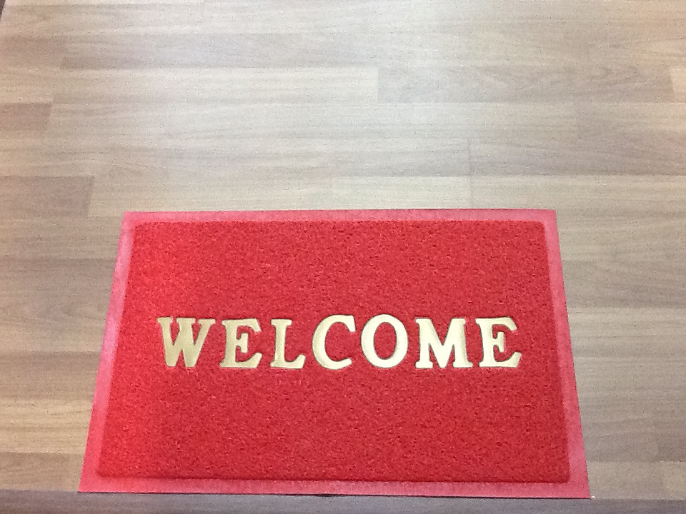 ... Welcome Door Mat Student Accommodation | By Uonottingham