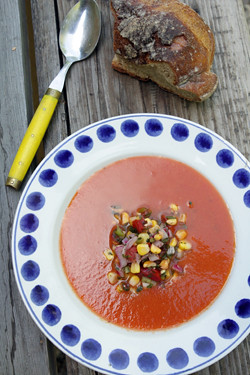 roasted tomato soup | by David Lebovitz