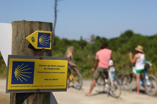 Chemin compostelle sud landes le chemin de saint jacques d flickr - Office de tourisme tarnos ...