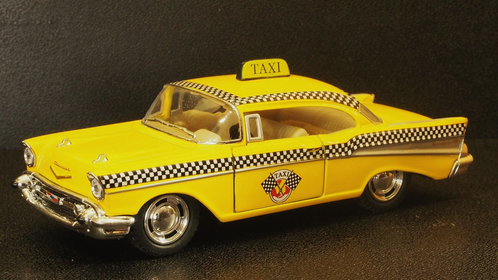1957 Chevrolet Bel Air Taxicab Kinsmart 136th Scal Diec Flickr