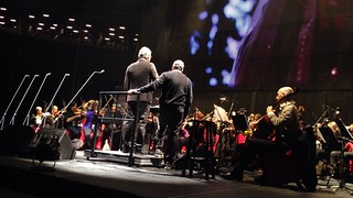 Andrea Bocelli sound check  Barclay Center | by gleenyc