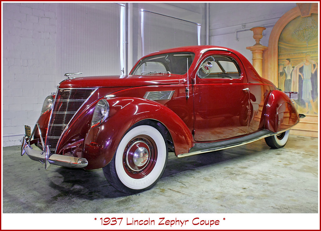 1937 Lincoln Zephyr | All of my classic car photos can be fo… | Flickr
