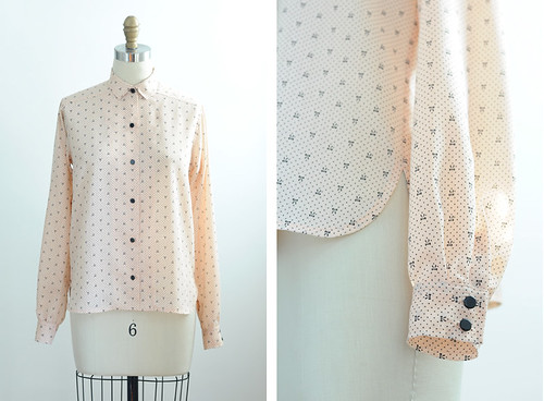 peach bow blouse | by imaginary animal