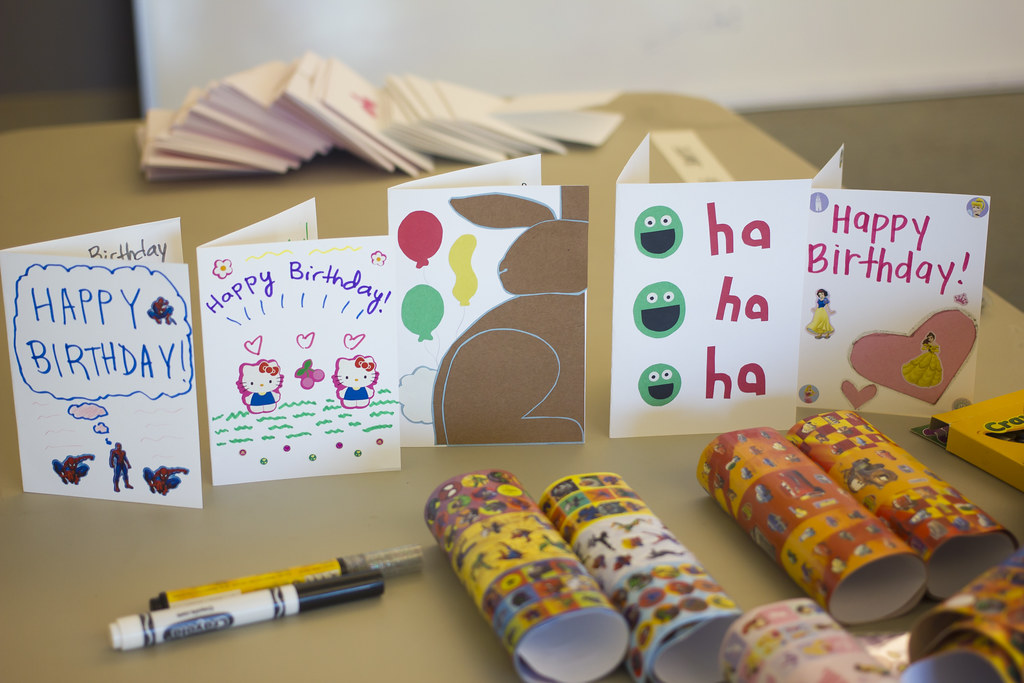 Beautiful Hand Crafted Original Birthday Cards That Were Flickr