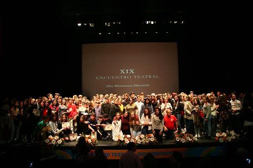 Entrega de premios del XIX Encuentro Teatral Dos Hermanas Divertida