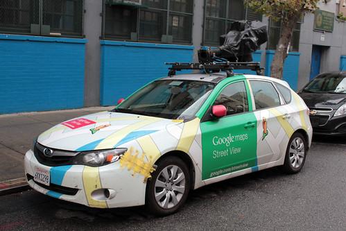 Google maps Street View Mobile