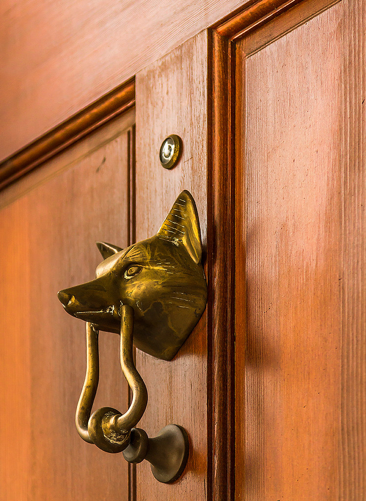 ... Fox Door Knocker   By Doddsjzi