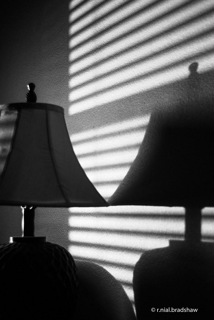 Lamp Window Blinds Shadow Jpg 4 123 R Nial Bradshaw Flickr