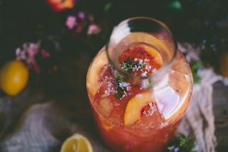 Peach & Rosemary Blossom Lemonade | IMG_1270 | Eva Kosmas Flores ...