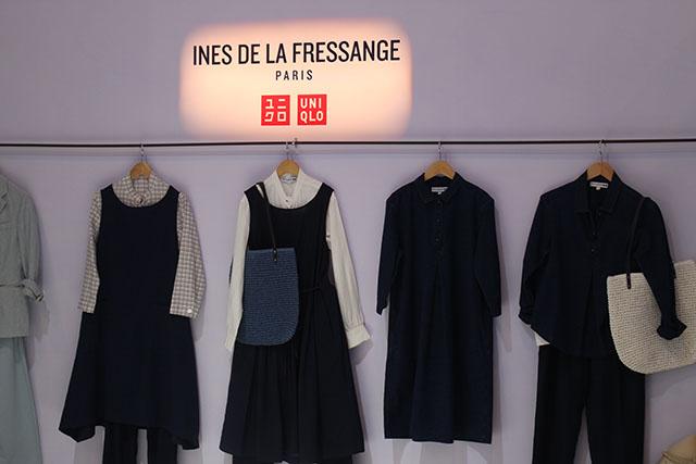 Uniqlo Spring Summer Fashion Style Duane bacon Lifewear Ines de la fressange Woman