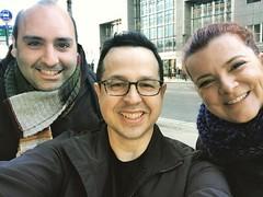 Fede con recién casados Antonio y Noe
