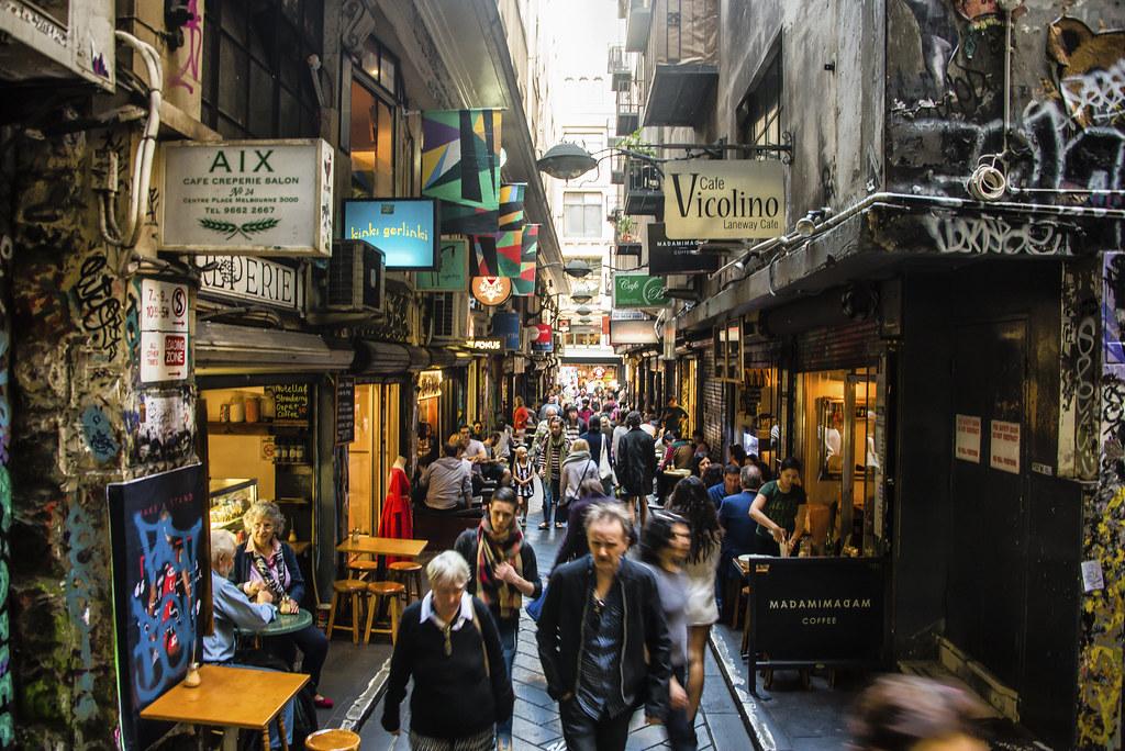 Melbourne | Kujakulttuuria Melbournessa.
