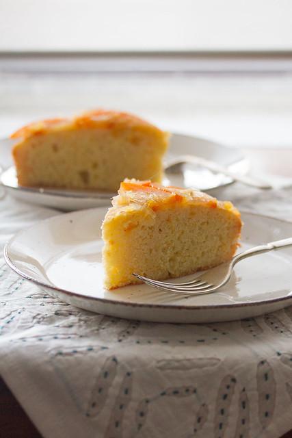Seville Orange Polenta Cake