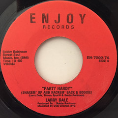 LARRY DALE:PARTY HARDY(LABEL SIDE-A)