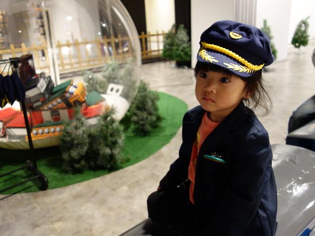 沒睡飽的站長大人@鐵道體驗館,CITYLINK松山館/松山火車站3F