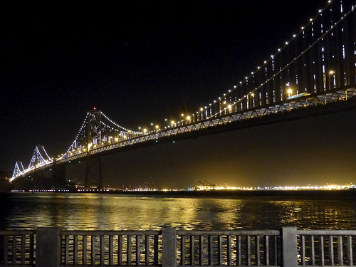 The Bay Lights on Bay Bridge, San Francisco | by romanboed