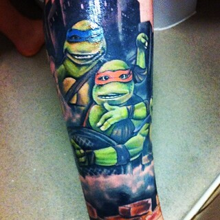 The detail on Michelangelo is amazing so happy with it ...
