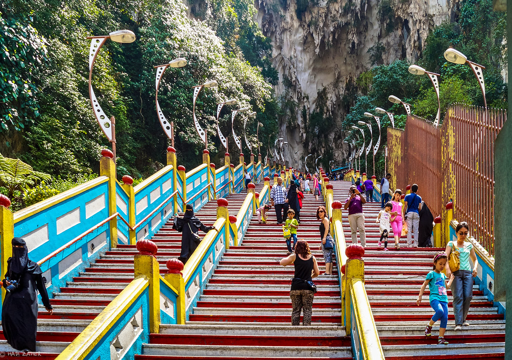 The Long Walk Down | Batu Caves Hindu Temple