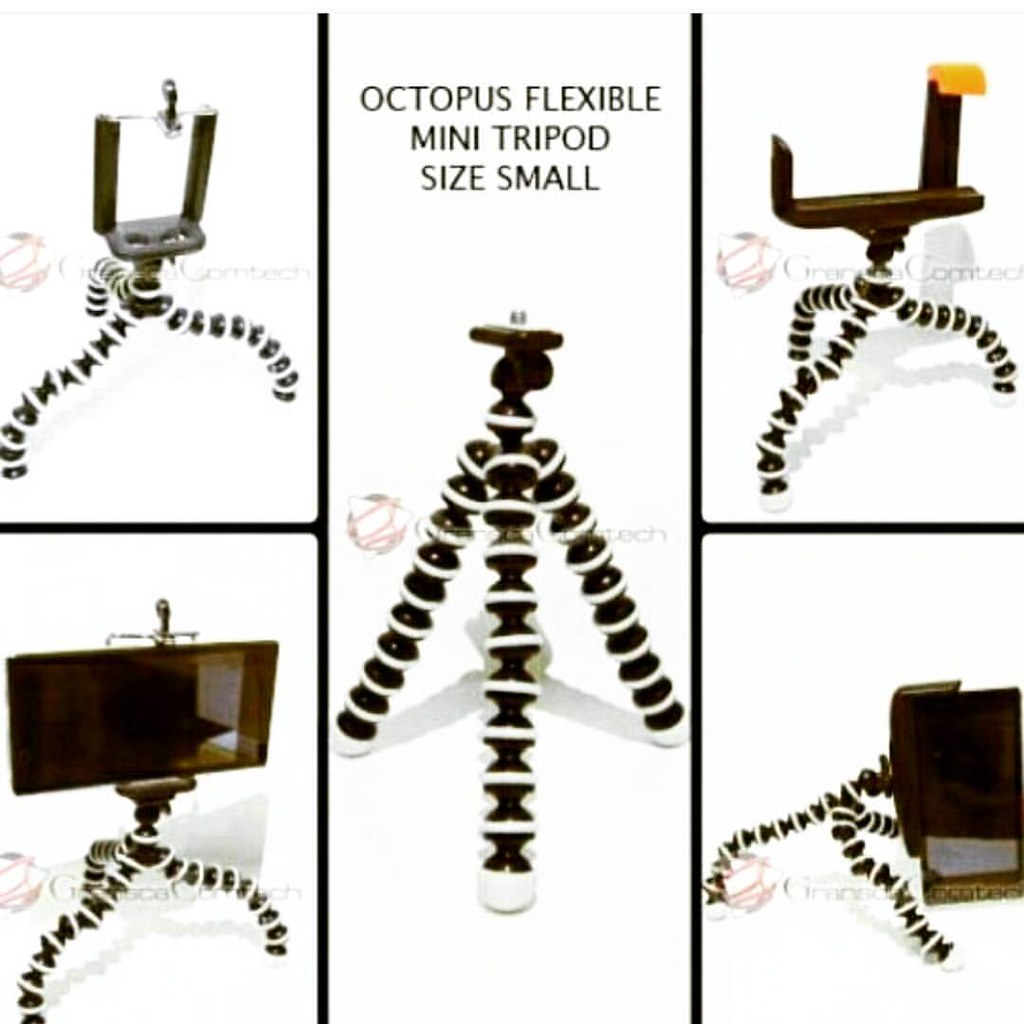 Gorillapod Octopus Flexible Tripod Smartphone Cam Flickr Small Camera Dslr Follow Us