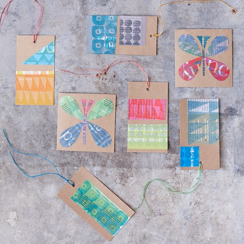 Block-Printed Tags & Cards