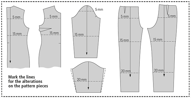 Quick Tip Adjusting The Length On A Sewing Pattern Sewing Blog