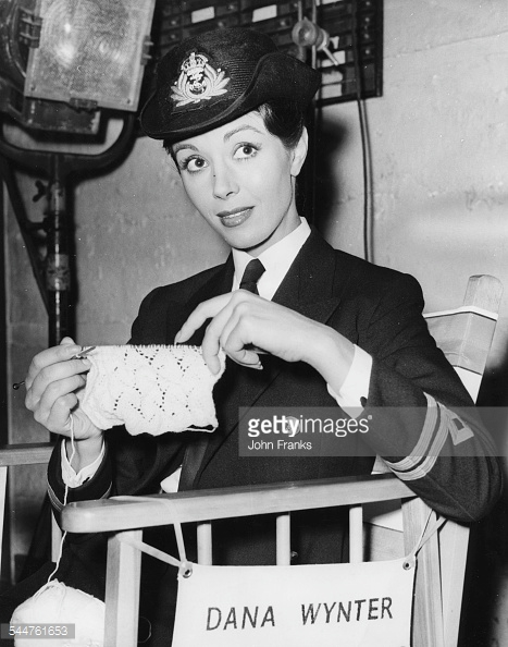 Sink the Bismarck! - Backstage - Dana Wynter