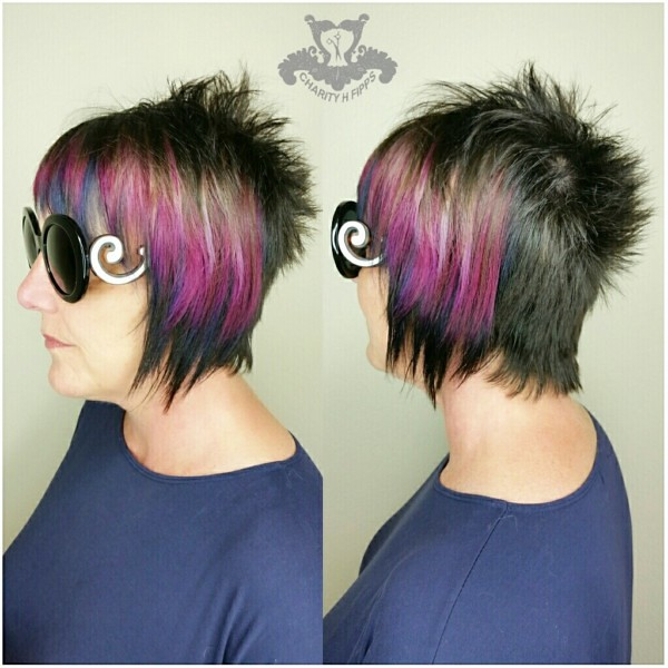 Joico Intensities Metallic Muse Punk Rock Pixie Haircut Flickr