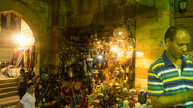 A duck face in Khan El-Khalili