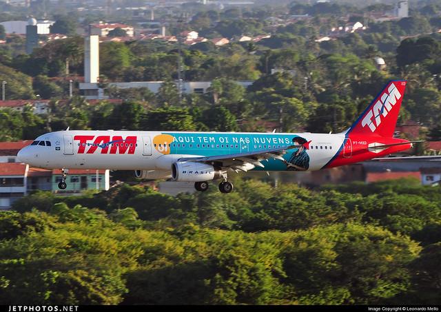 TAM Linhas Aéreas - Airbus A321-200 - PT-MXD - SBFZ