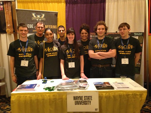 AIChE student chapter attends national conference, brings home second place poster award | by Wayne State University
