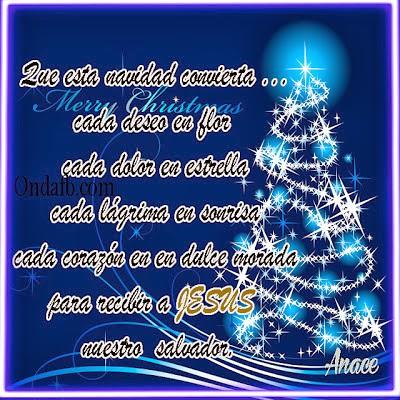 5 postales de navidad con frases bonitas para el facebook - Postales de navidad bonitas ...
