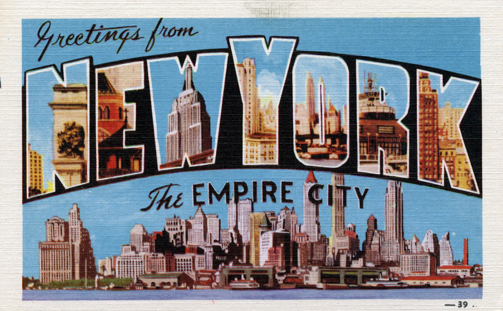 Greetings from new york new york the empire city large flickr greetings from new york new york the empire city large letter postcard m4hsunfo