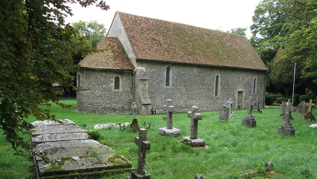St. Botolphs 11th Century Church at Swyncombe
