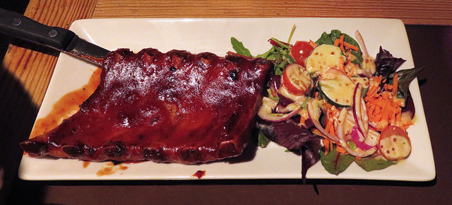 Ribs at the Porterhouse Temple Bar, a brewpub in Dublin, Ireland