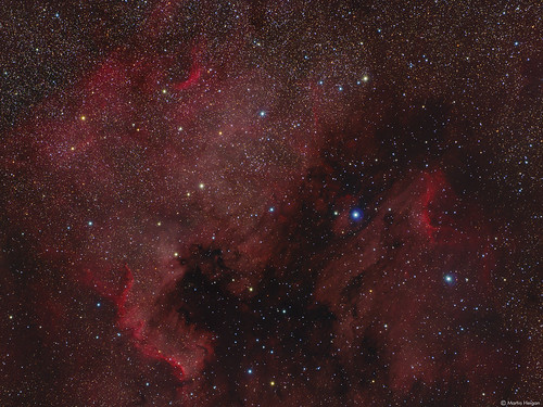 The North America and Pelican Nebulae | by Martin_Heigan
