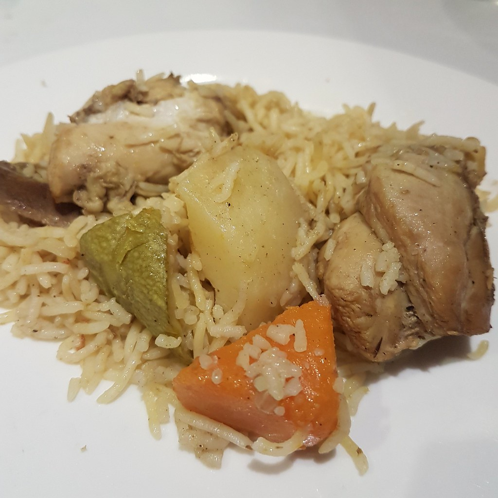 Chicken Madrooba Rice @ Al Safir hotel, Bahrain