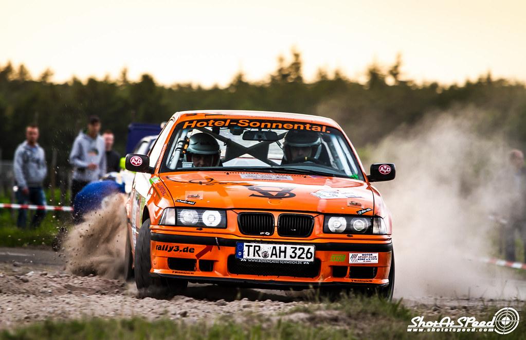Bmw E36 M3 Rally Car Nick Van De Sande Flickr