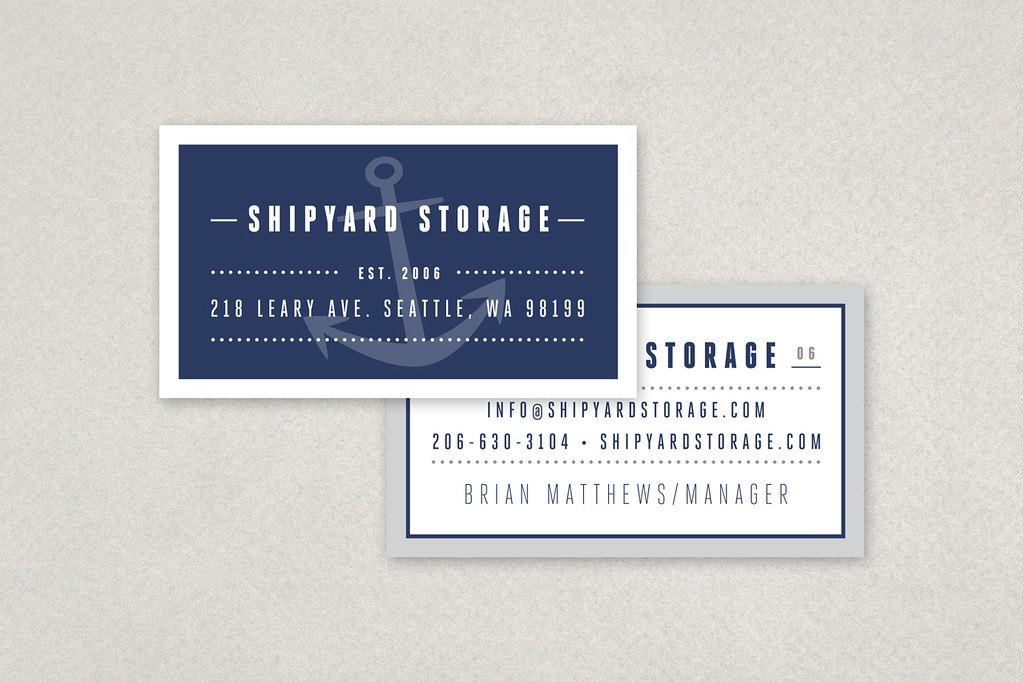 Nautical Business Cards Images - Business Card Template