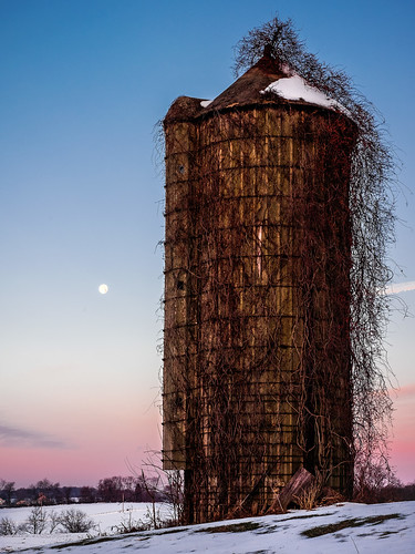 The Old Silo at Daybreak | by Entropic Remnants