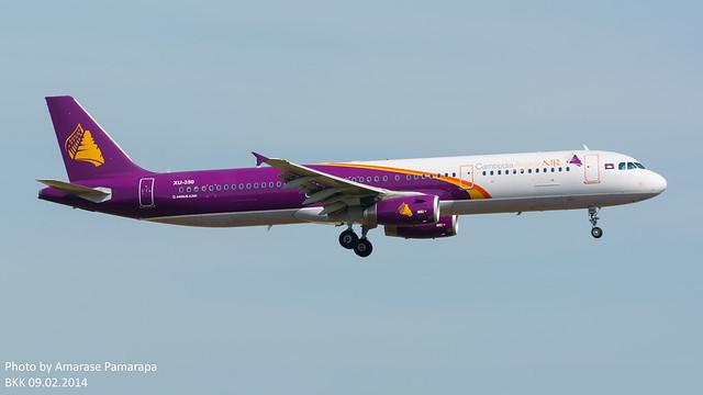 XU-350 // Cambodia Angkor Air Airbus A321-231