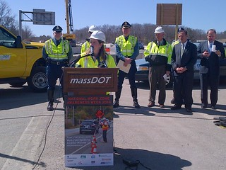 Work Zone Awareness, Dedham, April 10, 2014 | by MassDOT