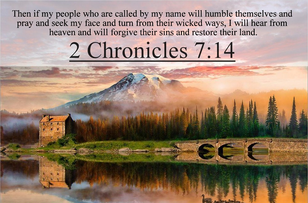 1000  ideas about 2 Chronicles 7 14 on Pinterest | Psalm 33, 2 ...