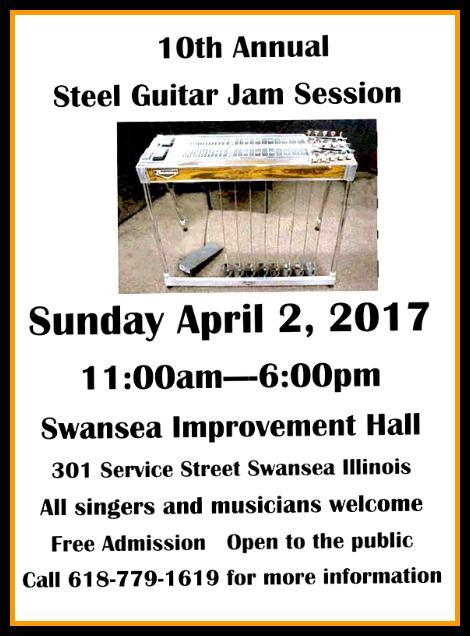 Steel Guitar Jam 4-2-17