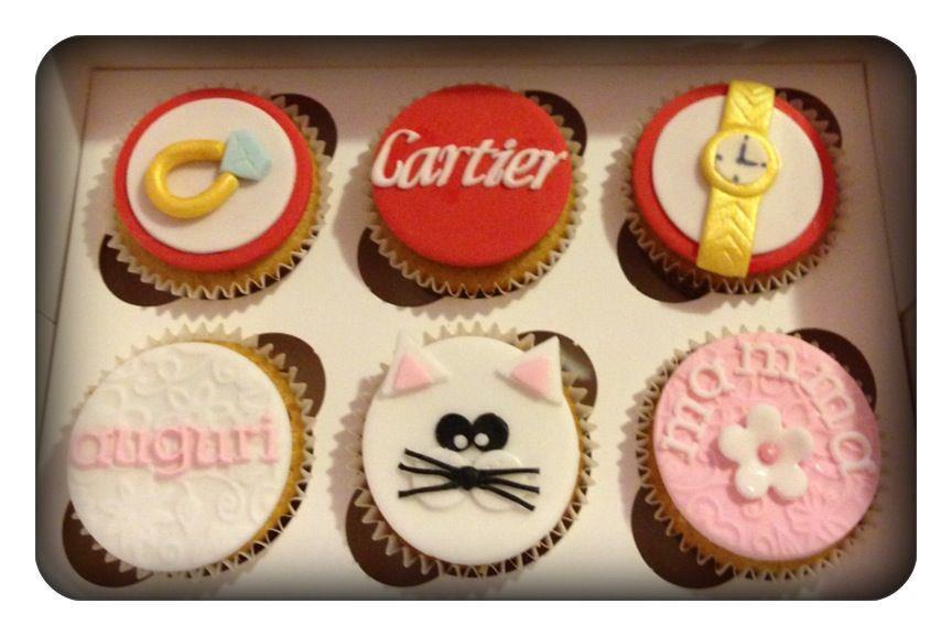 Cartier Birthday Cupcakes Il Cucchiaio Giallo Flickr