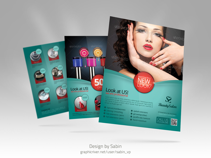 Graphic River Product Promo Flyer Template 02a This Produc Flickr