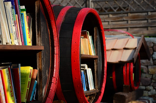 Bookshelf barrels | by kirandulo